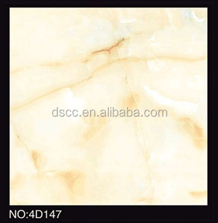 Italy style of ceramic tile oven polished faux marble floor tiles with shell design
