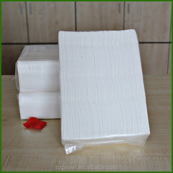 folded hand towel paper hand towel tissue paper hand tissue toilet towel