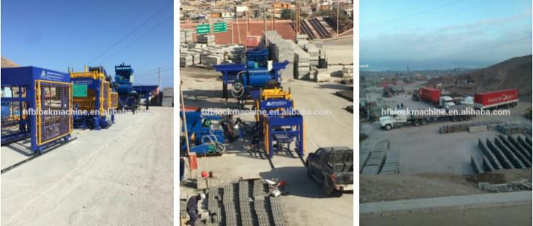 QT5-15 Tam Otomatik Hidrolik Beton Çimento Hollow Tuğla Blok Yapma Kalıplama Makinesi Kenya'da Satış Fiyatı
