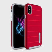 For iphone 6P/6S/7 Hybrid Matt red tpu cell phone case ,TPU mobile Phone Cover