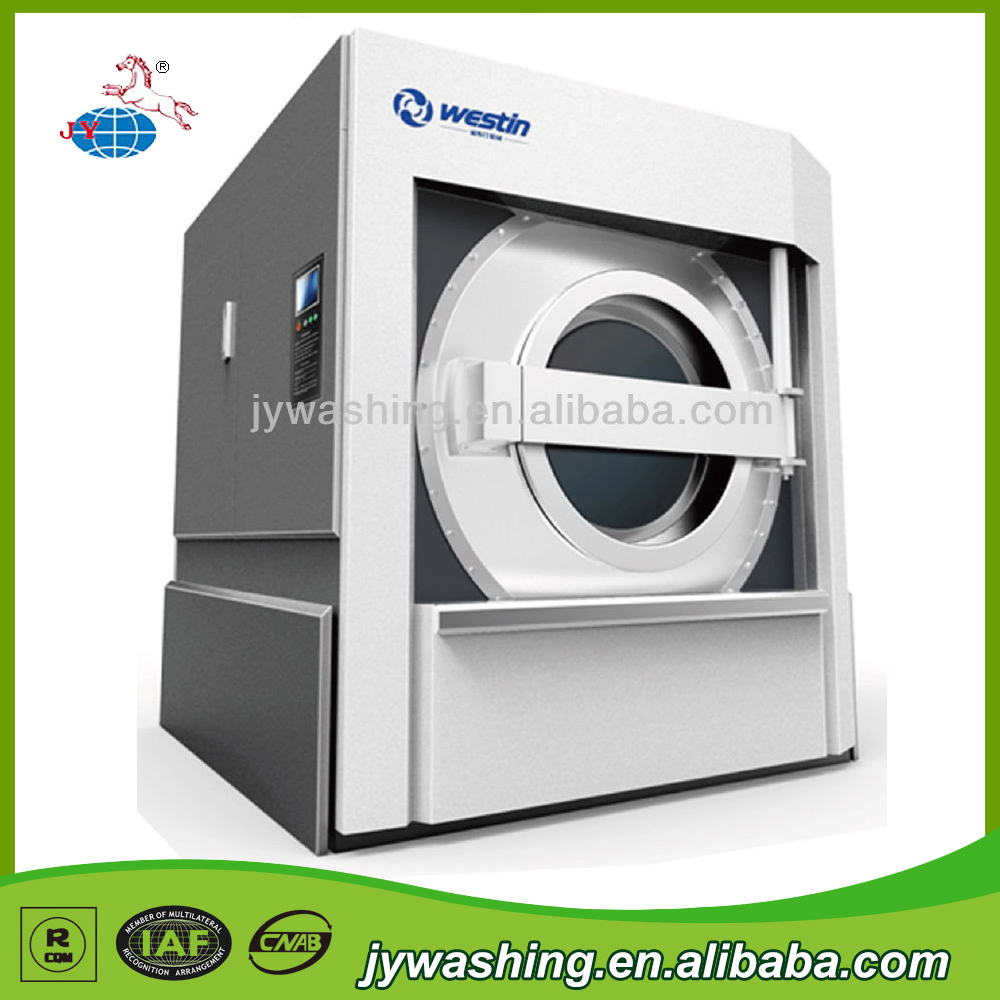 100-150KG CE Certification Commercial Laundry Washing Machine/Industrial Tilting Washer Extractor