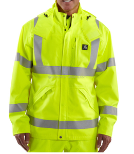 Fleece Safety Construction Jacket Winter Workwear Jacket