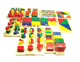 Math Game 14 Pieces Teaching Toy Preschool Wooden Educational Toys
