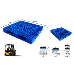 system from China supplier plastic pallet used