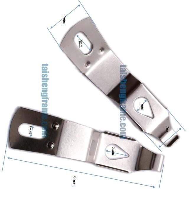 bilderrahmen hardware biegen klammer kleine federklammer haken produkt id 60030832392 german. Black Bedroom Furniture Sets. Home Design Ideas