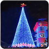 Outdoor large cone christmas tree for christmas decor