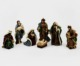 Antique Polyresin Christmas Nativity Set Figurine Set Resin Catholic Nativity Scene Figurines