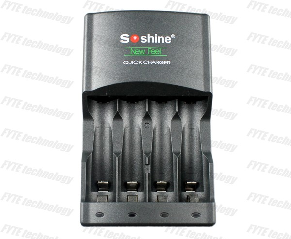 SoShine SC-U1 Ni-Mh Charger with 4LED AA/AAA Quick Battery Charge