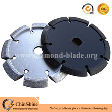 Top quality diamond wall chaser blade for cutting crack with V cut saw blade