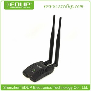 EDUP hot selling EP-MS8515GS Double Antenna Ralink 3070 USB Wireless Adapter for Ipad/Iphone/ipod 1000mw High Power