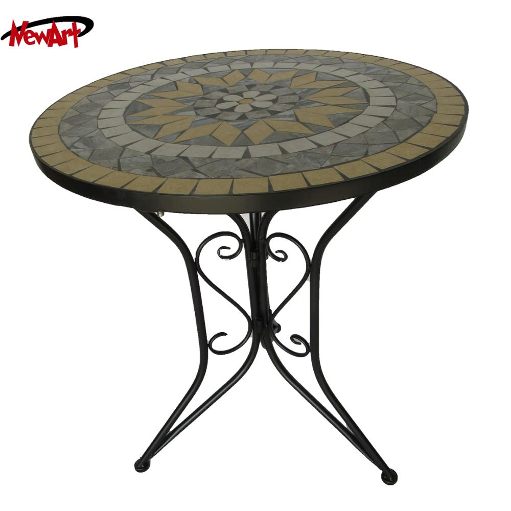 Hot sell bm garden furniture garden oasis patio furniture outdoor mosaic table sets home decoration