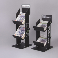 customized Acrylic Newspaper and Magazine Display,plastic newspaper display