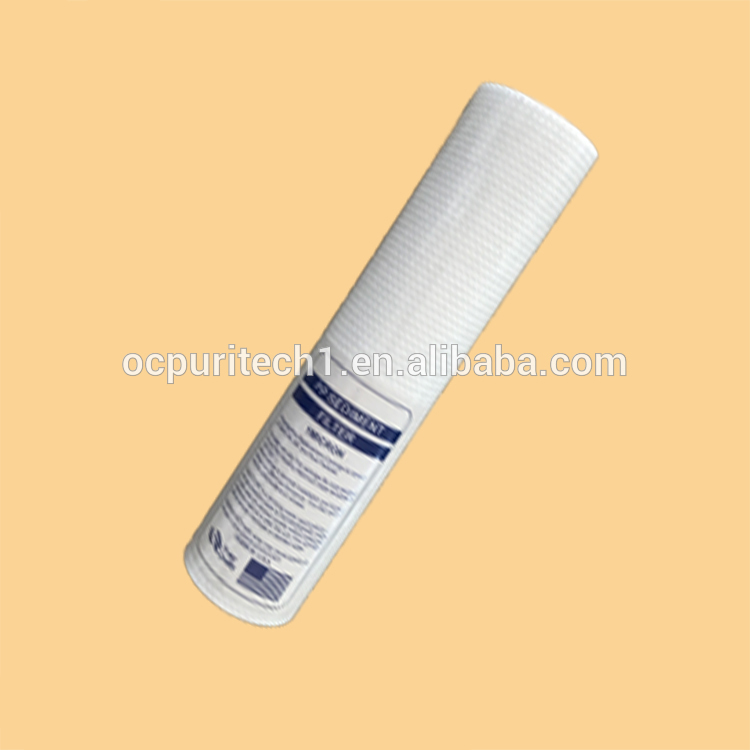 The better 1,5,10,20micron pp string wound filter cartridge spiral wound filter cartridge