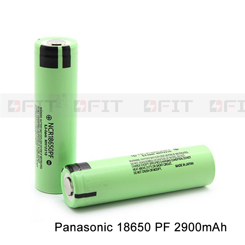 Original NCR 18650 PF li-ion battery 2900mAh 18650PF battery for electric chariot