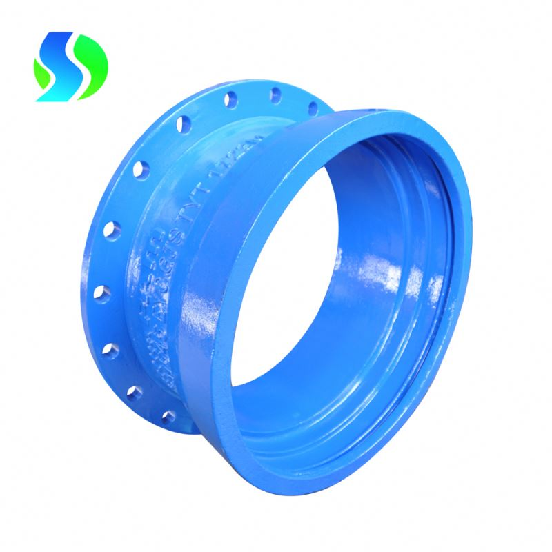 liquid epoxy coating flanged socket di fittings for pvc pipe
