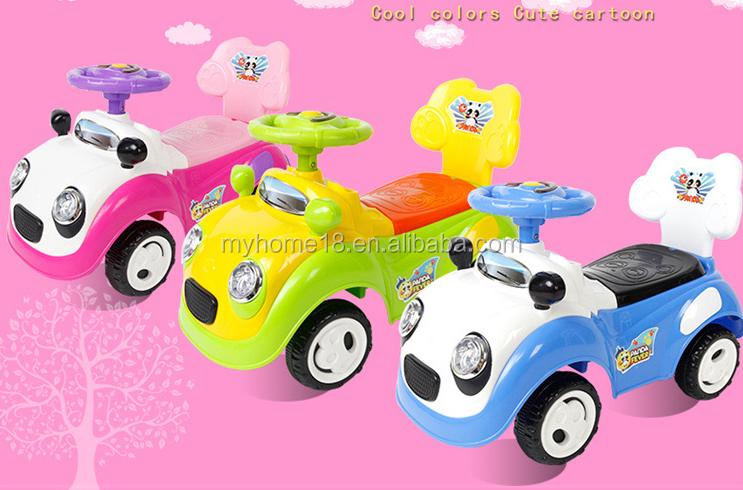 2 In 1 Bambino Altalena Scorrevole Auto Da Corsa Del Bambino Bambini ...