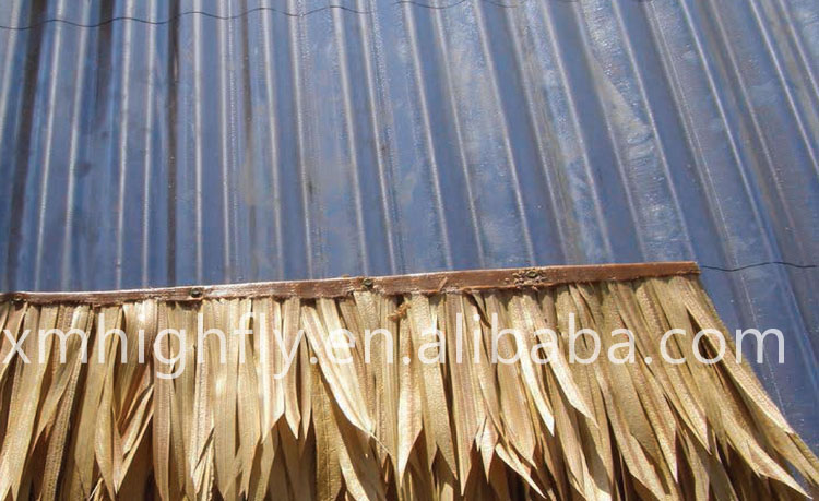 Factory wholesale cheap synthetic thatch roof