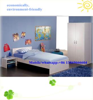 Cheap White Melamine Bedroom Sets Hot Sell Bedroom Sets Buy Economically Bedroom Furniture