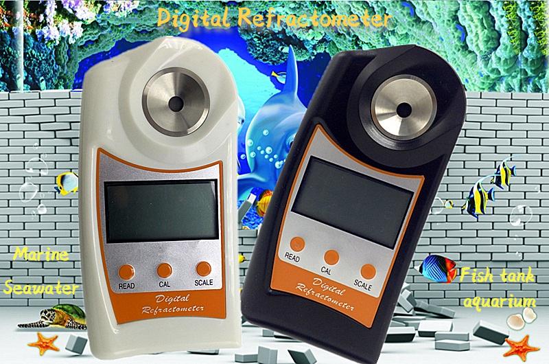 디지털 염분 및 비중 굴절계