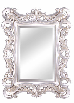 beveled mirror picture frames large size pu home decor framed wall mirror for bathroom room. Black Bedroom Furniture Sets. Home Design Ideas