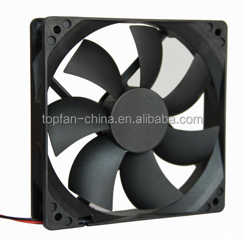 4.7Inch small fan dc 12V 24V 48V sleeve and ball bearing axial flow fan used computer and LED 12025