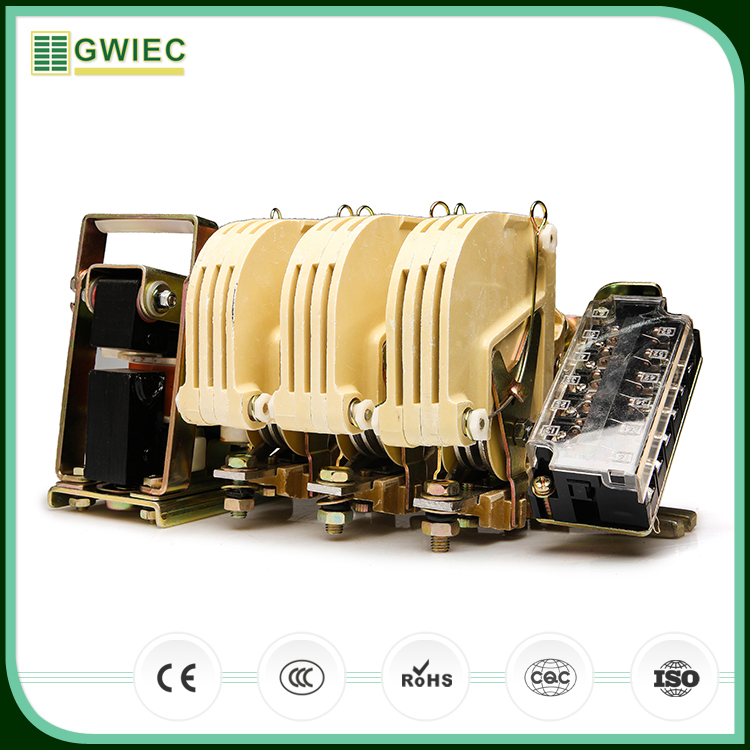 GWIEC Wholesale Products CJ12 Series 3 Phase Magnetic Types Of Electrical AC Contactor 100A