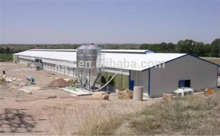 Professional Design Commercial Prefabricated Poultry Chicken House