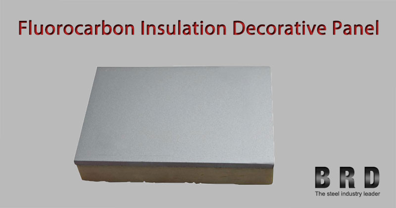 Decorative Product Board : Fluorocarbon thermal insulation eps xps layer board for
