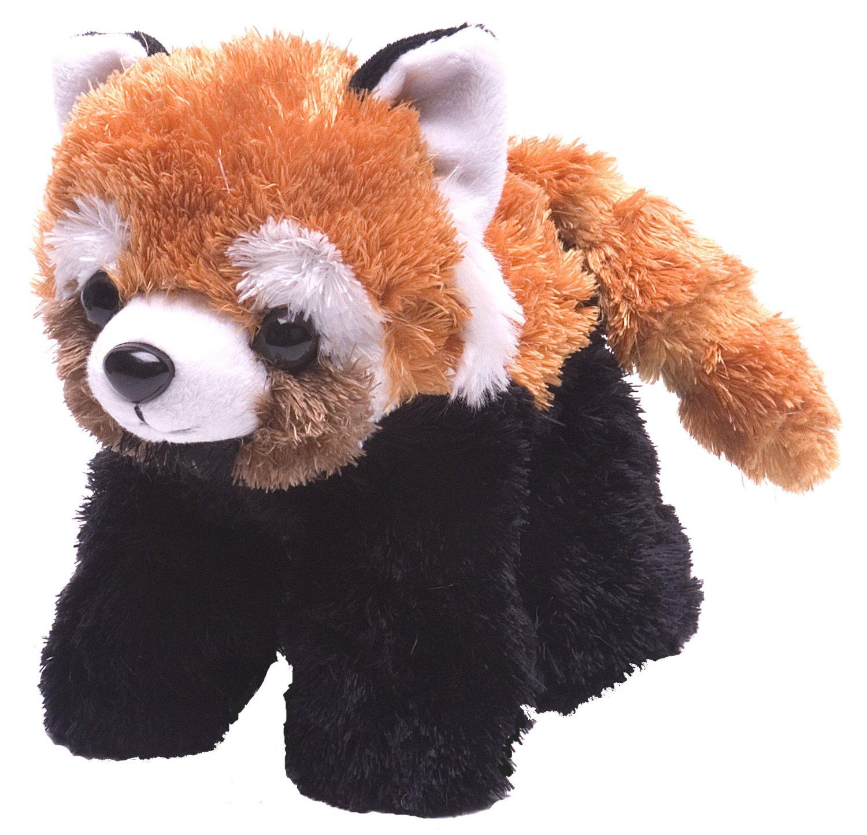 "Wild Republic Red Panda Plush, Stuffed Animal, Plush Toy, Gifts for Kids, Hug'Ems 7"""