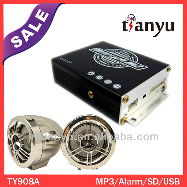China anti-theft mp3 player motorcycle car amplifier heatsink