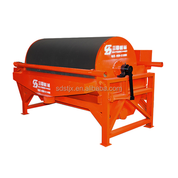 Iron sand drum magnetic separator price