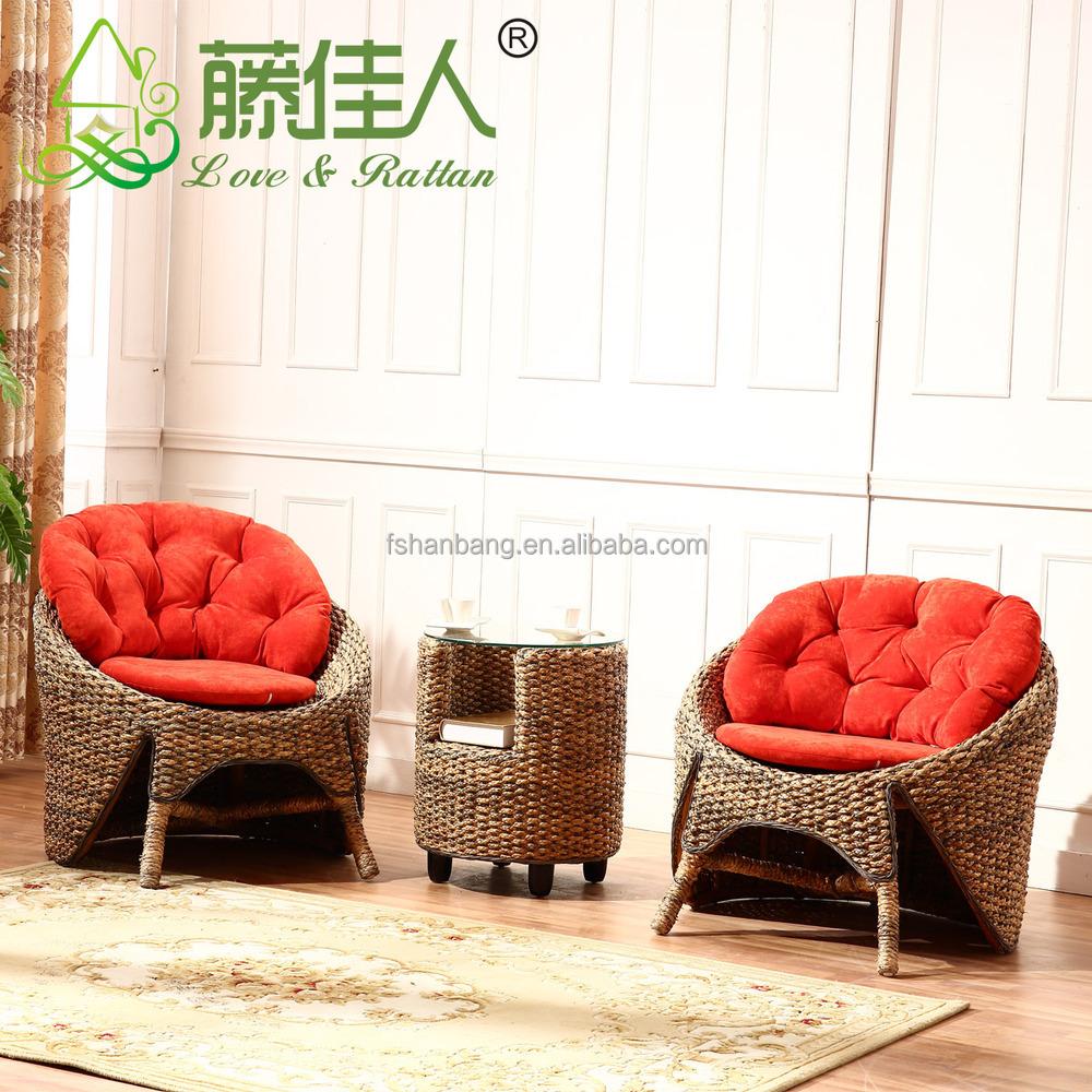 Modern Interior Wicker Handicraft Hand Woven Living Room Sofa Couch ...