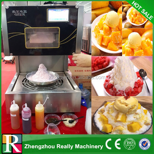 304 food grade stainless steel electric snow flake shaved ice machine snow ice shaving machine