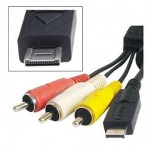 MPF Products Replacement K1HA14CD0004 AV Audio/Video RCA Cable Cord for Panasonic Lumix DMC-FT1, DMC-FT2, DMC-FX65, DMC-FZ35, DMC-FZ38, DMC-FZ40, DMC-FZ45, DMC-FZ100, DMC-FZ1000, DMC-GF2, DMC-GH1, DMC-GH2, DMC-TS1, DMC-TS2, DMC-TZ6, DMC-TZ7, DMC-TZ9, DMC-TZ10, DMC-TZ65, DMC-ZS1, DMC-ZS3, DMC-ZS6 &