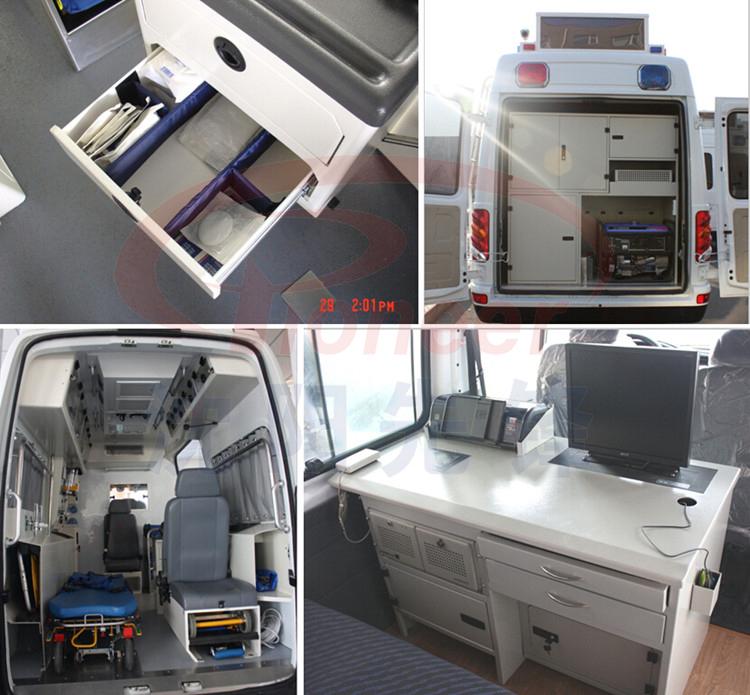 ambulance interior converting/locker/desk for car conversion