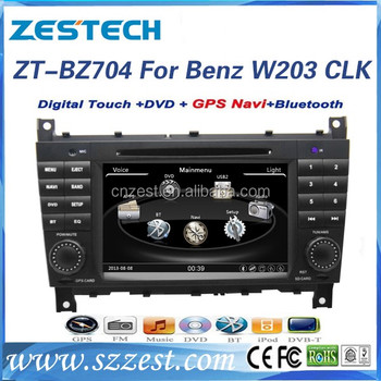 Car Radio Gps Parts Accessories For Mercedes Benz C Class Clk W203 C230  C240 C280 Car Gps Navigation System Tv Dvd Multimedia - Buy Car Accessories