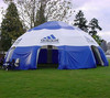 Brand advertising inflatable outdoor tent will walls