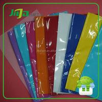 plastic sleeve for school books