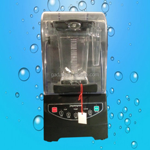 2017 hot sale electric quiet blender smoothie maker, commercial ice blender machine with cover(ZQF-990)