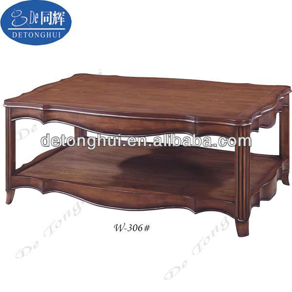Classical Hotel Furniture Square Wood Teapoy W-306# - Buy ...