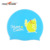 Most popular custom printing silicone waterproof Funny Cartoon swimming cap