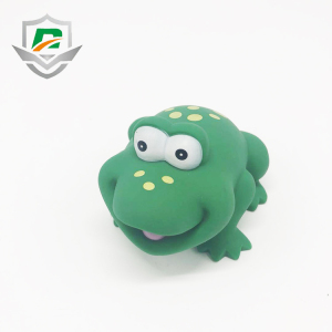 kids toy wholesale cheap multi animal shape customized PVC rubber frog bath toy for baby shower