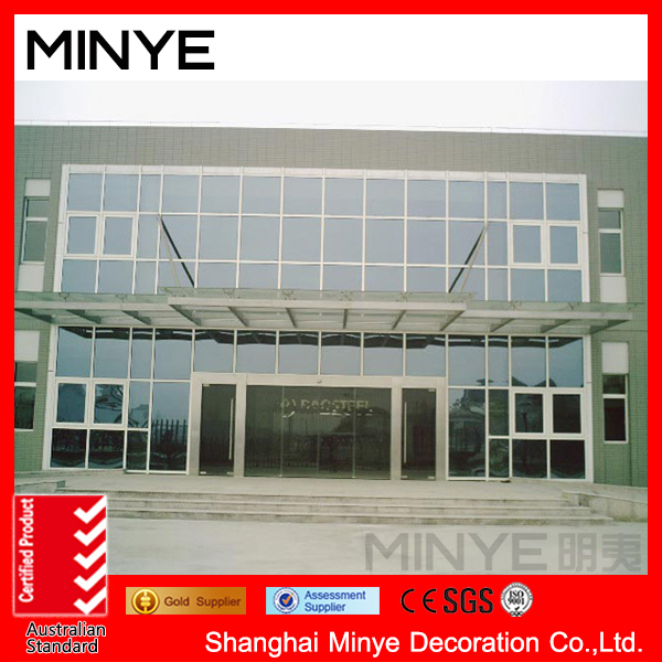 top quality China supplier tempered glass curtainwall /aluminum frame curtain wall for sale