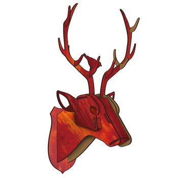 Deer Head Mount >> Cheap Deer Head Decor Artificial Deer Head Deer Head Mount Decor