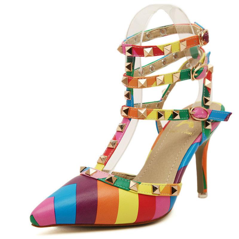 Buy Women Heels Sandals 2015 Pointed