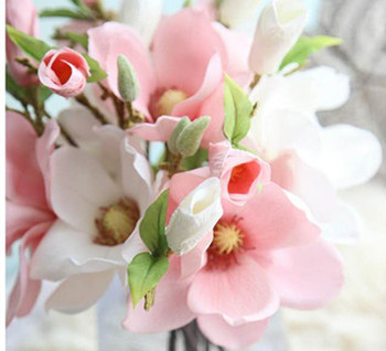 Hot sale artificial magnolia real touch silk flowers wholesale buy hot sale artificial magnolia real touch silk flowers wholesale mightylinksfo