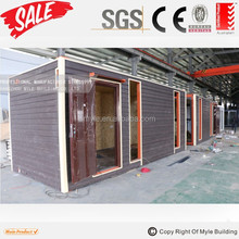 ISO sea 20ft shipping container house container hotel for living