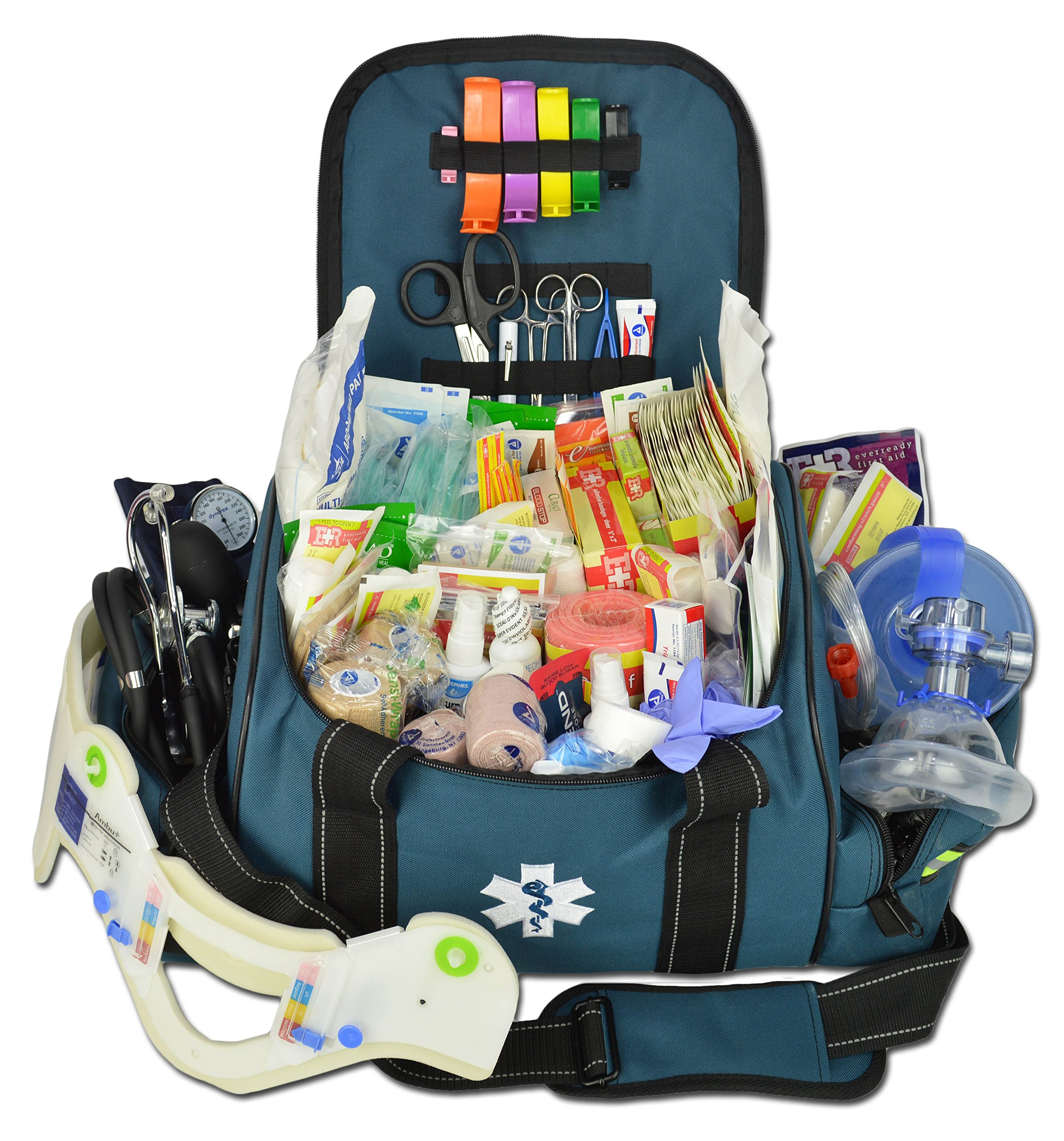 Get Quotations Lightning X Deluxe Stocked Large Emt First Aid Trauma Bag Fill Kit W Emergency Medical