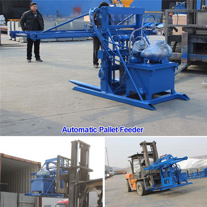 WANTE MACHINERY QT10-15 Low cost machine to make blocks cement