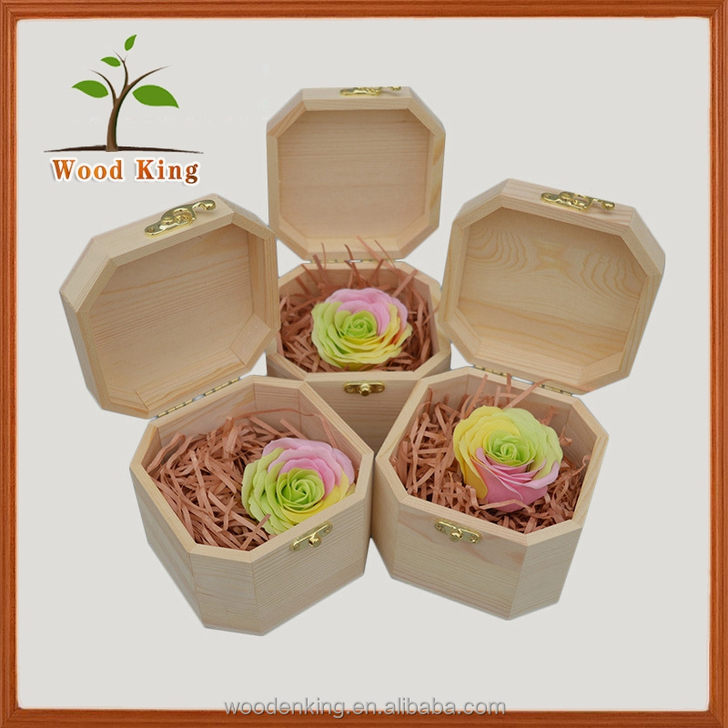 Custom Logo Size Natural Lumber Factory Direct Sale Wooden Gift Candy Apple Pie Fruit Packaging Boxes